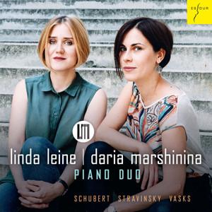 linda-leine-daria-marshinina-piano-duo-schubert-stravinsky-vasks